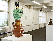creatures and creators group exhibition - Genie and the