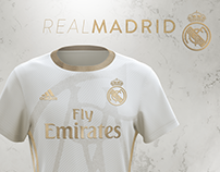 Real Madrid | Gold Concept | Adidas