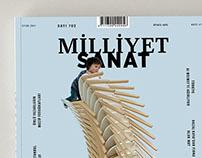 Milliyet Sanat Magazine Design Student Project