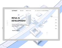 CITYPROFIT — web design concept