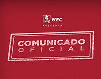 DIA DE LOS INOCENTES -KFC