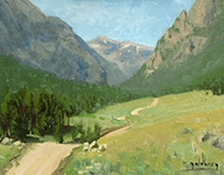 Montana Landscape Paintings