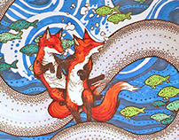 Foxes Sink in a Carousel Sea