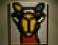 PIXELS: Mondrian Camel