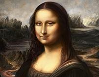 Mona Lisa Digital painting