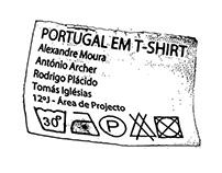 """Portugal em T-Shirt"", Stop Motion Video, 2010"