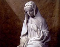 Mária, marble, 2006