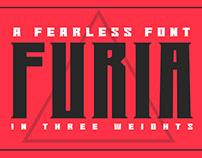 FURIA- A FEARLESS FONT