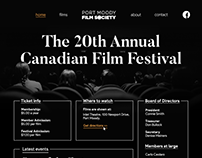 Website Redesign : Port Moody Film Society