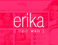Erika Tipo Web - Website Design