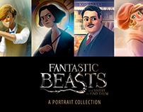 Fanstastic Beasts Portraits (Fanart)