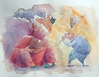 Whimsical Watercolor Fantasies