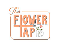 The Flower Tap Logo Design