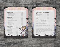 My Cup of Tea - Cafe Menu Design