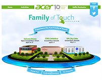 Acer Philippines - Digital Campaigns 2013