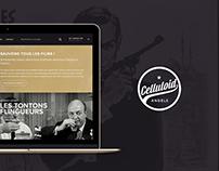 Celluloid Angels - Website design proposal