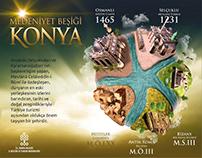Konya Tanıtım Afişleri (Konya City Promotional Posters)