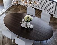 Dinning Corner - Scandinavian Style
