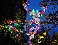 Neon Deer (Eden Deer)