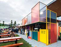 SÜTIZZ - pavilion design / 2019