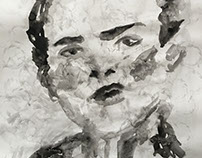 Untitled- Ink Portraits