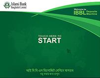 Islami Bank Bangladesh Limited CDM Screen Design