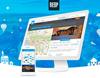 REOP web and iOS design & development