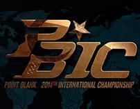 Hotsite Campeonato PBIC 2014 do Point Blank.