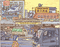 100 Views of Tokyo(11〜15)