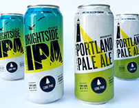 Lone Pine Brewing Company Cans