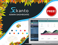 Ekanto Admin Dashboard (Freebie)