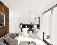 Interior Design of small Apartment