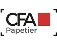 Branding & flyer - CFA Papetier