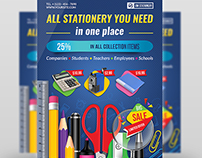 Stationery Products Flyer Template