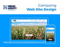 Memo Anaya's Campaing Web Site