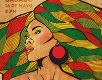 Reggae Concert Poster