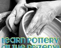 Design - Posters for local Ceramics class, Feb 2015