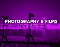Photography & Films Logofolio