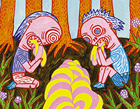 Hungry Hansel and gluttonous Gretel ~ book