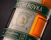 Becherovka Unfiltered. Cocoon Unstoppable.