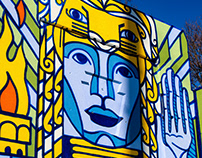 The Temple of Community Mural