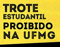 Infográfico Trote UFMG
