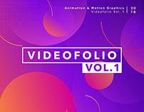 Videofolio Vol. 1