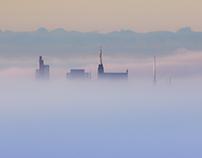 MĚSTO V MLZE /CITY IN THE FOG; BRNO; CZ