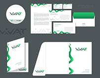 Разработка логотипа и фирменного стиля Vivat