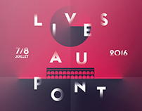 LIVES AU PONT FESTIVAL 2016