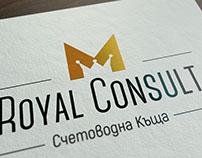 Royal Consult M - Logo & Identity