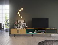 Visualization of furniture