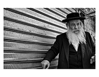 Streets of the pious Jews - Israel