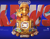 KAWS™ × Nintendo™ 联合海报练习